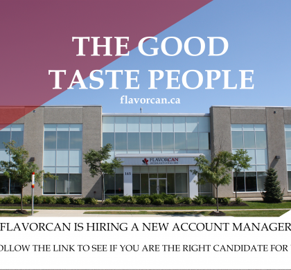 Flavorcan is Looking for a New Account Manager!