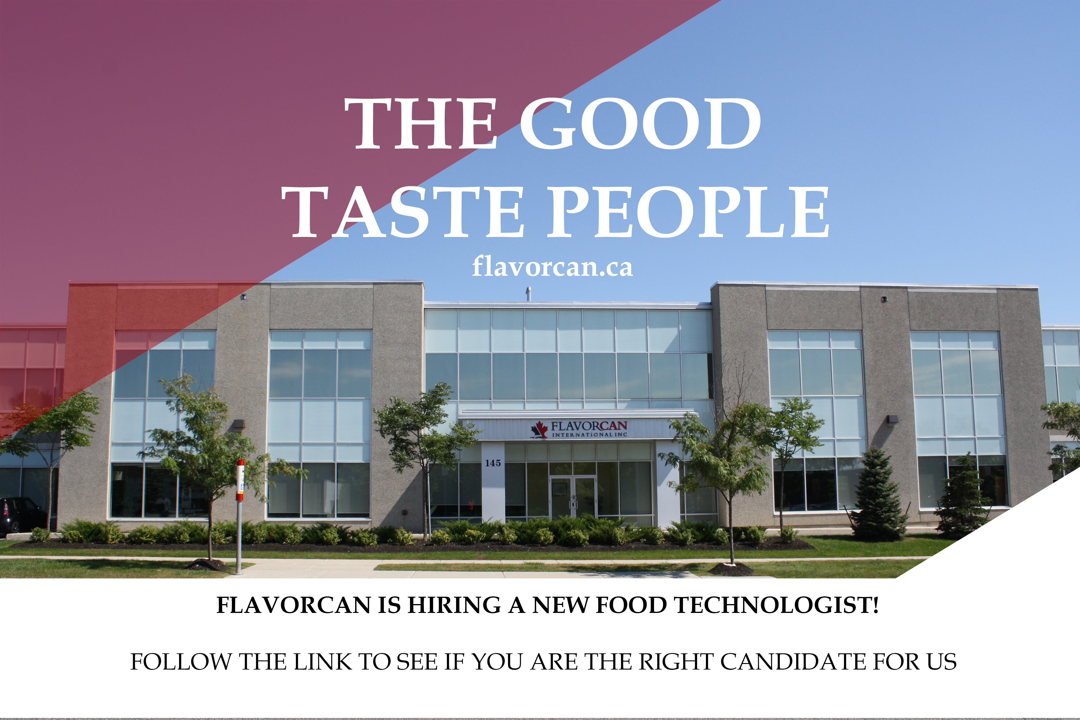 Flavorcan is Hiring a Food Technologist!