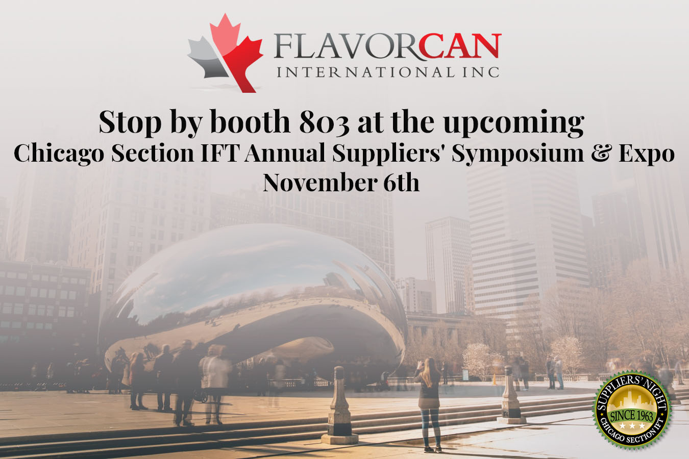 Chicago Section IFT Annual Suppliers' Symposium & Expo